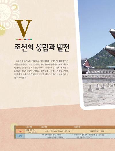 5.조선의 성립과 발전 제목 이미지