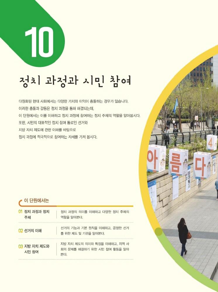 10.정치 과정과 시민 참여 제목 이미지