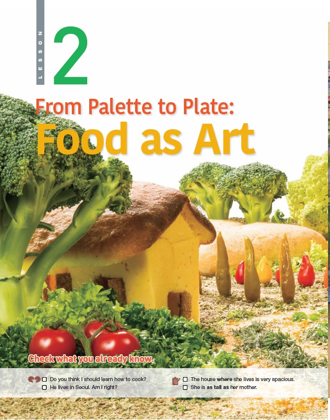 2.From Palette to Plate: Food as Art 제목 이미지