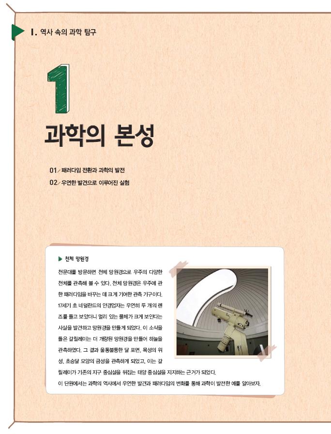1.과학의 본성 제목 이미지