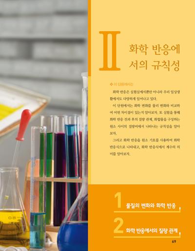2.화학 반응에서의 규칙성 제목 이미지
